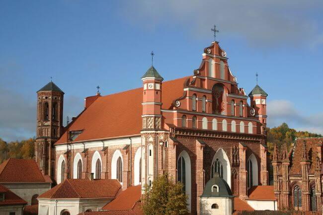 iglesia san francisco de asis vilna
