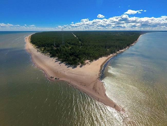 cabo de kolka mar baltico letonia