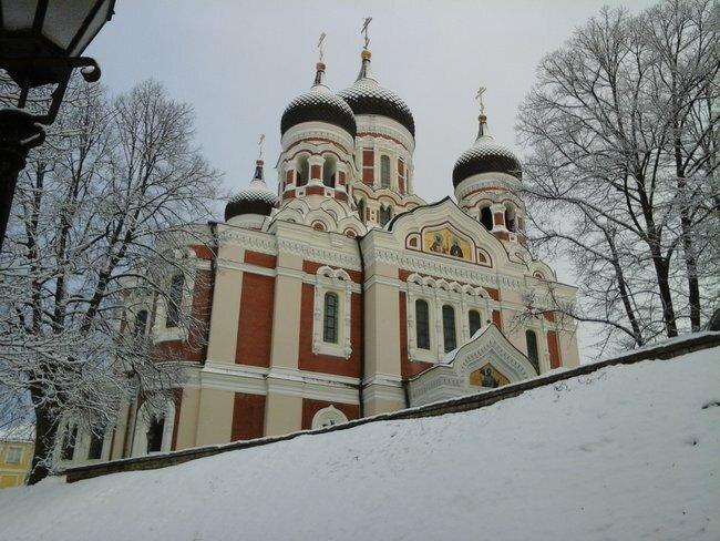catedral alejandro nevski tallin