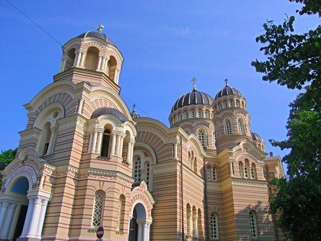 catedral natividad riga