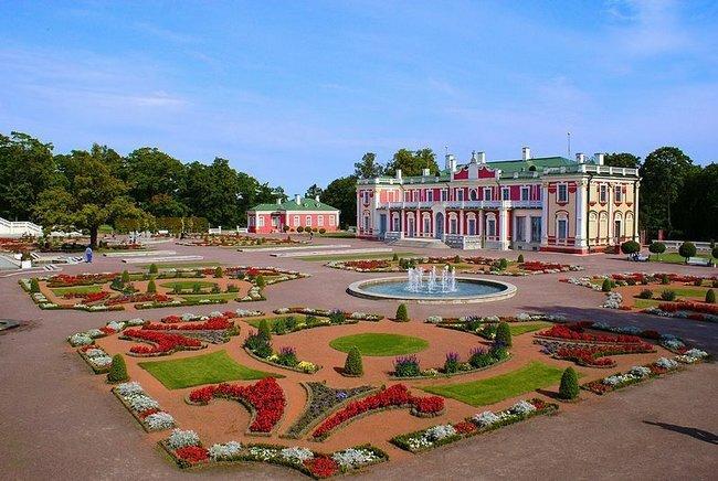 que ver en estonia parque kadriorg